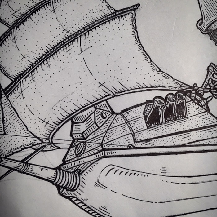 Another close up sketch