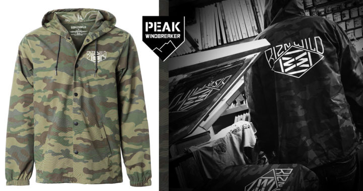 RIZNWILD Peak Water Resistant Windbreaker Jacket