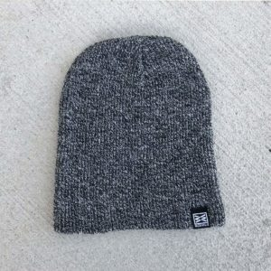 RIZNWILD Frost Beanie in Black/White
