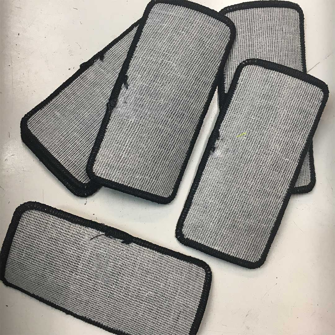 Patches with glue on back
