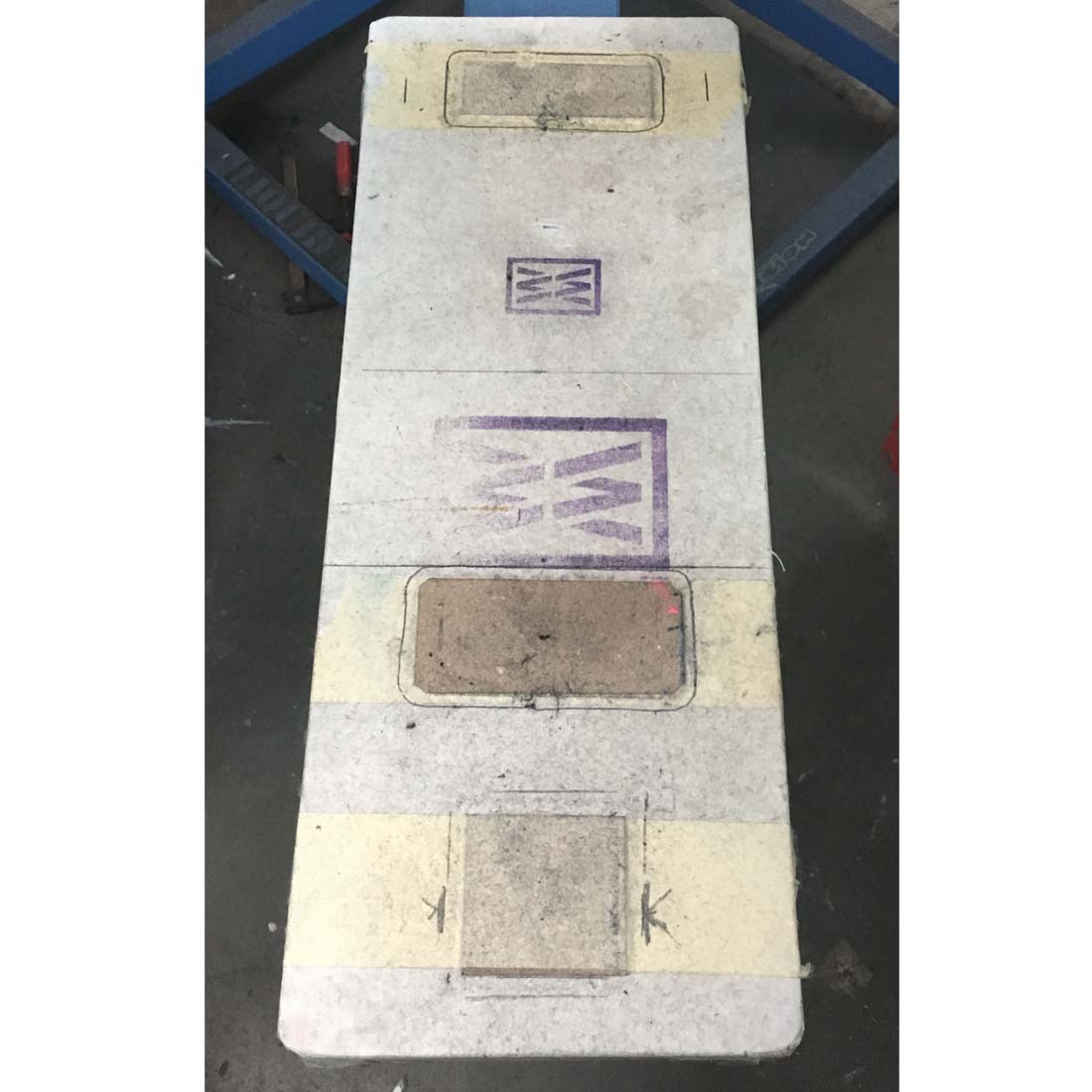 dedicated platen | cardboard raisers