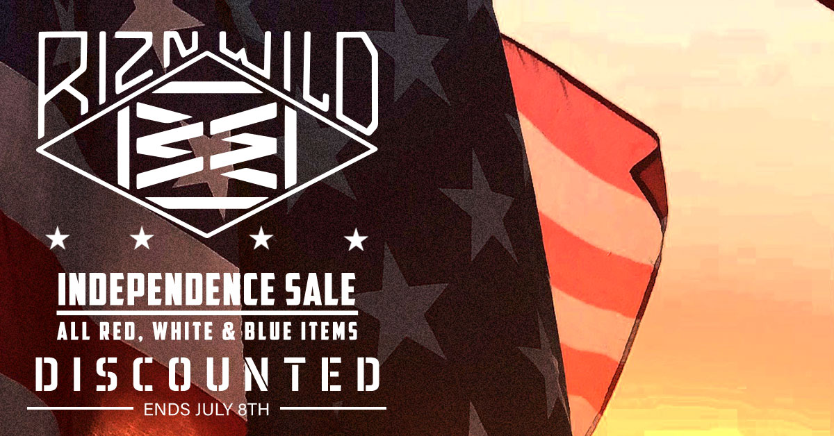 RIZNWILD Independence Sale
