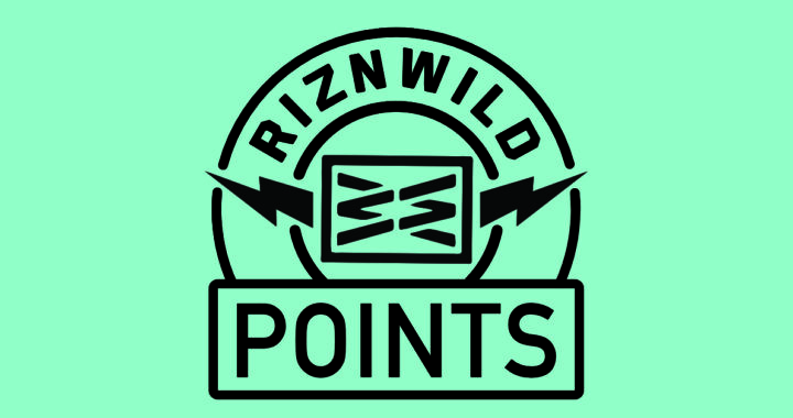 RIZNWILD POINTS REWARDS