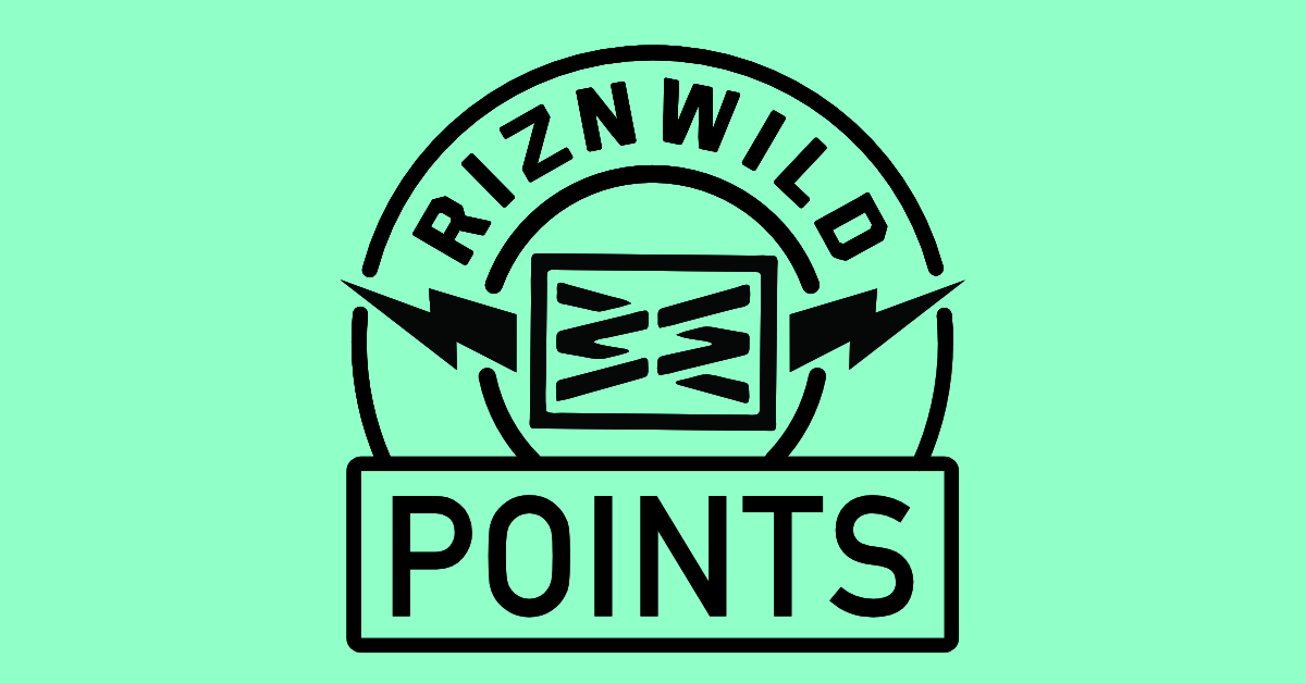RIZNWILD Points Rewards Now Available!