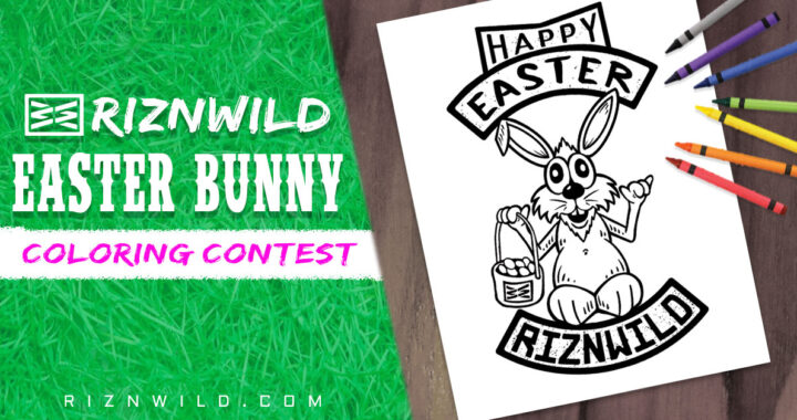 RIZNWILD Easter Bunny Coloring Contest
